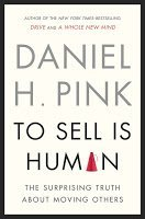 To Sell Is Human by Daniel Pink book cover