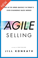 Agile Selling by Jill Konrath book cover
