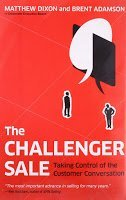 The Challenger Sale book by Adamson