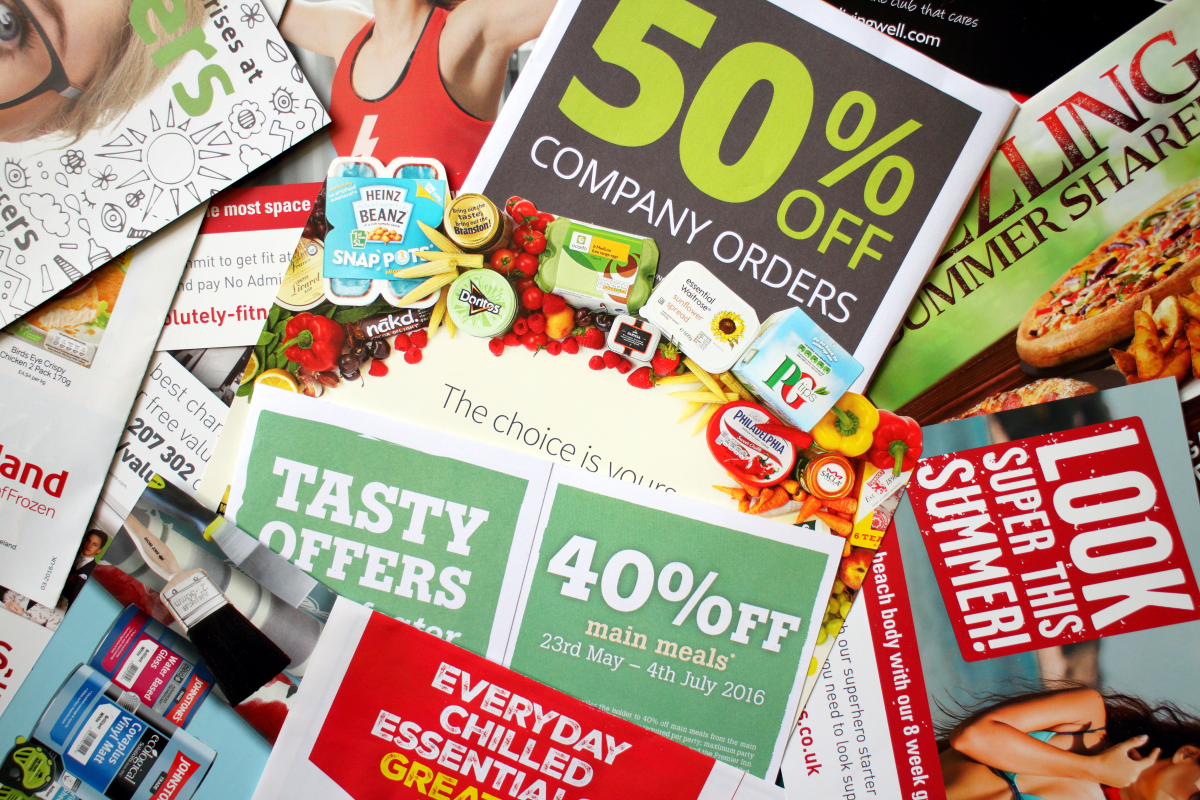 common promotional flyers