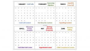 sales meeting calendar