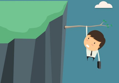 retaining sales rep falling off cliff
