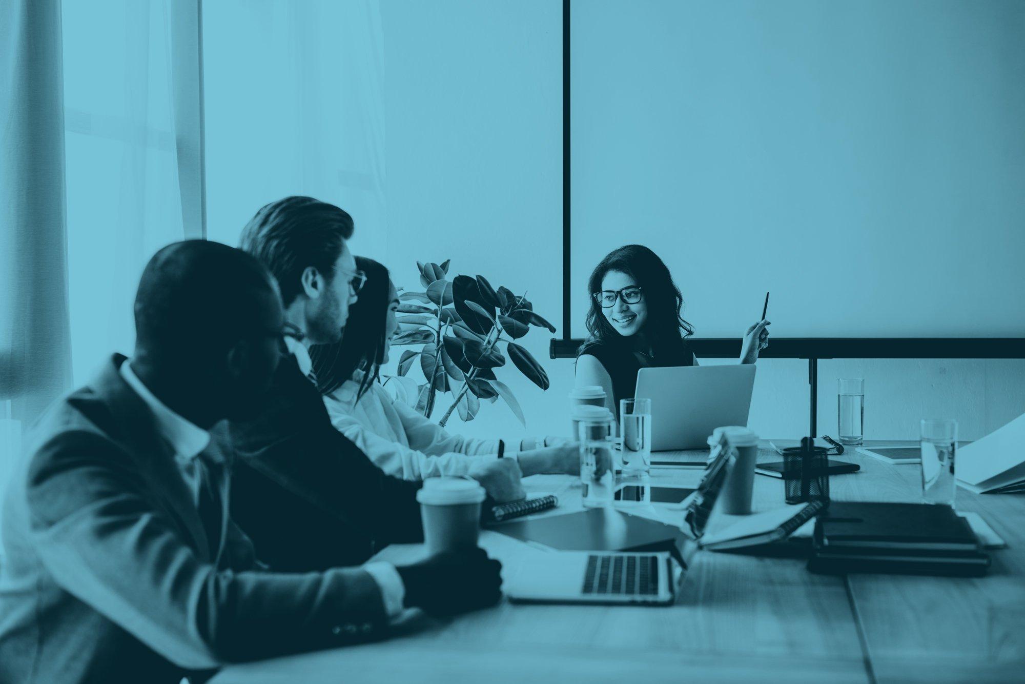 sales talent development meeting